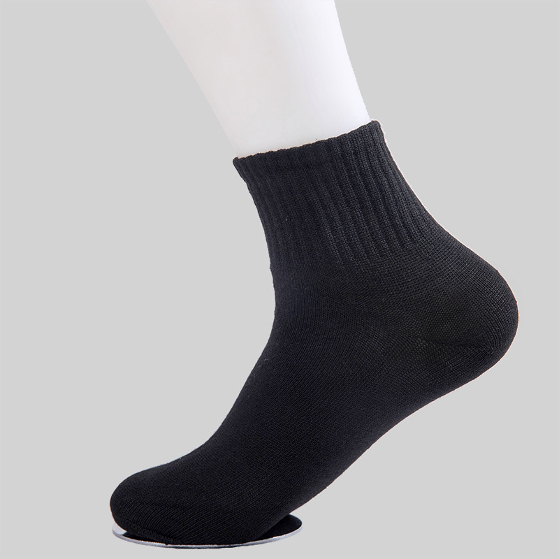 Socks Men's Tube 30 Double Men Deodorizing Socks Sports Cotton Socks Disposable Short Spring And Autumn Men's Socks
