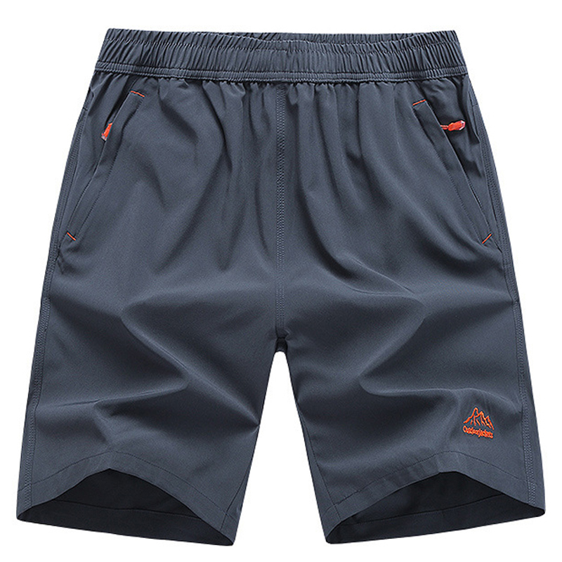 Drop Shipping Men`s Sport Summer Shorts Size L-9XL 10XL Quick Dry Shorts Men Breathable Beach Shorts Cool Bermuda Short Male Boy