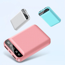 10000mAh Power Bank Dual USB Output Portable Charger Powerba
