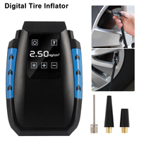 2019 New Digital Tire Inflator DC 12 Volt Car Portable Air Compressor Pump 150 PSI Auto Aire Pump for Car Motorcycle LED Light