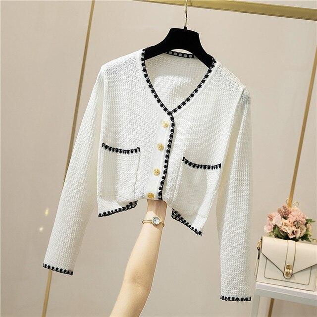 Фото женский трикотажный тонкий свитер мягкий теплый кардиган с длинным