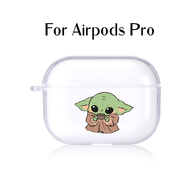 Baby Yoda Star Wars Clear Cases For Airpods Case Silicone Cover