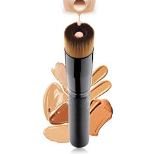 LoveThanks 1X Pro Fibre Cosmetic Stippling Brush Makeup Powder Blush Liquid  Brush Foundation Tool Multipurpose Brush Maquillaje