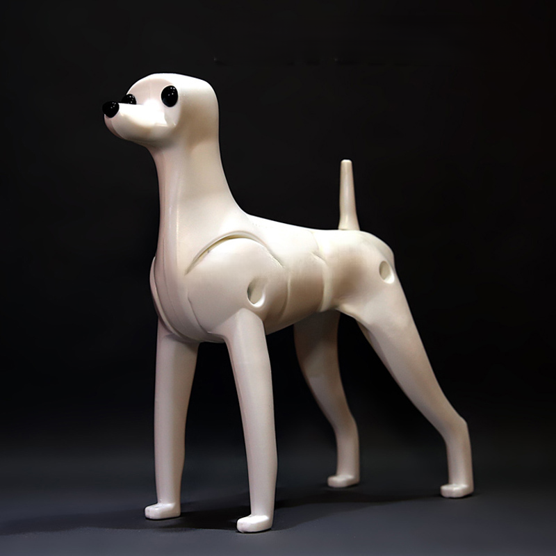 Pet Grooming Model Dog Mannequin  For Pet Salon And Grooming School Teach Teddy Bear Dog Dummy Only