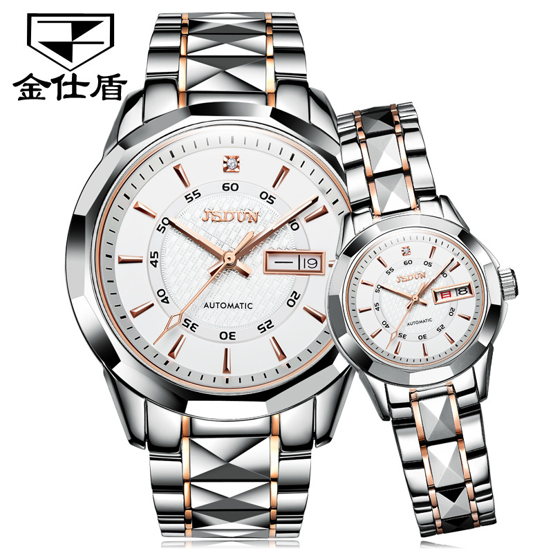 Watch manufacturers wholesale automatic mechanical watch trend waterproof diamond watch women watch men watch lovers Watch
