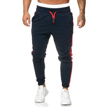 Спорт брюки мужчины% 27 бегун фитнес спорт брюки новинка мода принты мышцы мужчины% 27 фитнес тренировка брюки