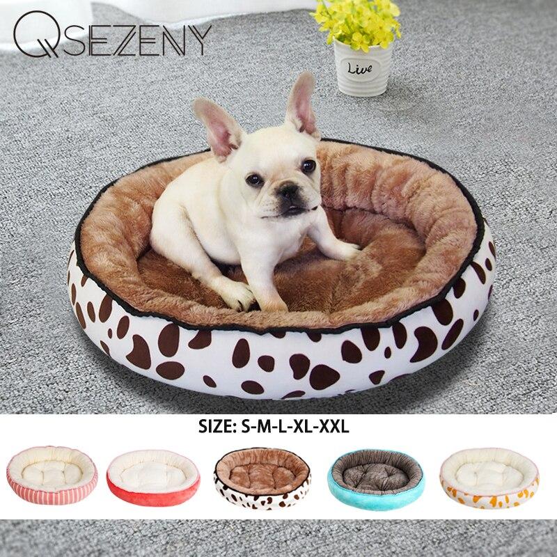 Согревающая кровать для собак, моющаяся, гибкая, очень удобная плюшевая подушка с ободком и нескользящая Нижняя кровать для собак, домик для больших и маленьких собак|Дома, конуры и манежи|   | АлиЭкспресс