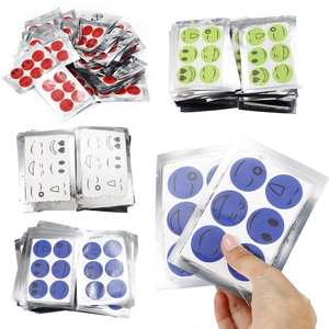 Mosquito-Stickers Patches Repeller Cartoon-Drive DIY 60pcs/Set