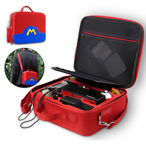 Image 3 - Reise Lagerung Schalter Fall Spiel Trage Tasche für Nintendo Schalter Konsole Joycon Swithc Pro NS Nintend Schalter Zubehör