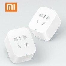 Xiaomi mijia интеллектуальная Розетка WiFi беспроводной пульт дистанционного розетка адаптер питания вкл и ВЫКЛ с телефоном Прямая