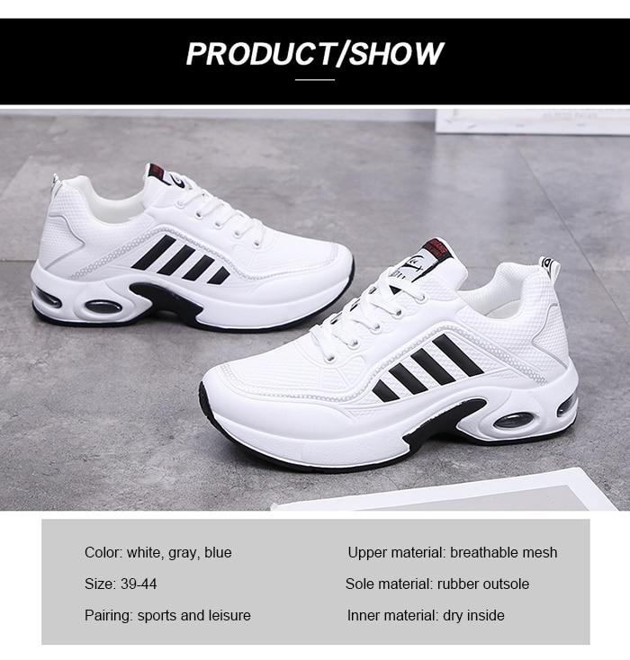 Scarpe Sneakers Donna Da Passeggio Ginnastica Corsa Chunky Lace Up Sport Shoes