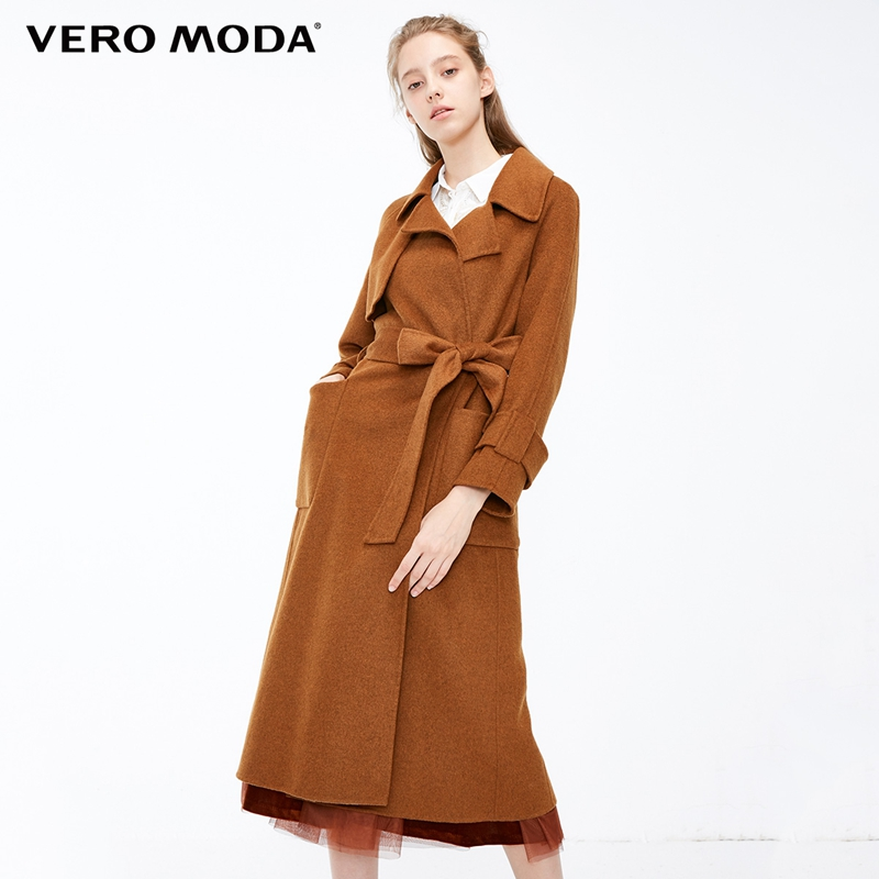 Vero Moda Women's 61.3% Wool Blend Pure Double-Faced Coat  | 318327508
