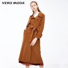 Vero Moda Women's 61.3% Wool Blend Pure Double-Faced Coat |