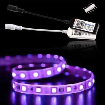 Wifi Mini RGB Bluetooth Controller DC 5V 12V 24V Mini Music Lighting Controller Light Strip Controller For RGB RGBW LED Strip