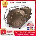 Крышка двигателя CVK, крышка статора двигателя, боковая крышка Картера, Крышка корпуса для KAWASAKI Z750 Z750S 2003 2004 2005 CNC, алюминий