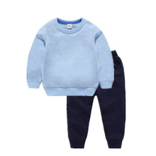 VIDMID Childrens Clothes Sets baby  Boys kids Sweater + Pants 2 pcs Clothing sets childrens clothing girls 7060