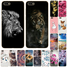 case for Huawei Y5 2018 Case TPU Back Cover For Huawei Y5 Prime 2018 Case For Honor 7s