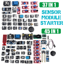 Für arduino 45 in 1 Sensoren Module Starter Kit besser als 37in1 sensor kit 37 in 1 Sensor Kit UNO r3 MEGA2560
