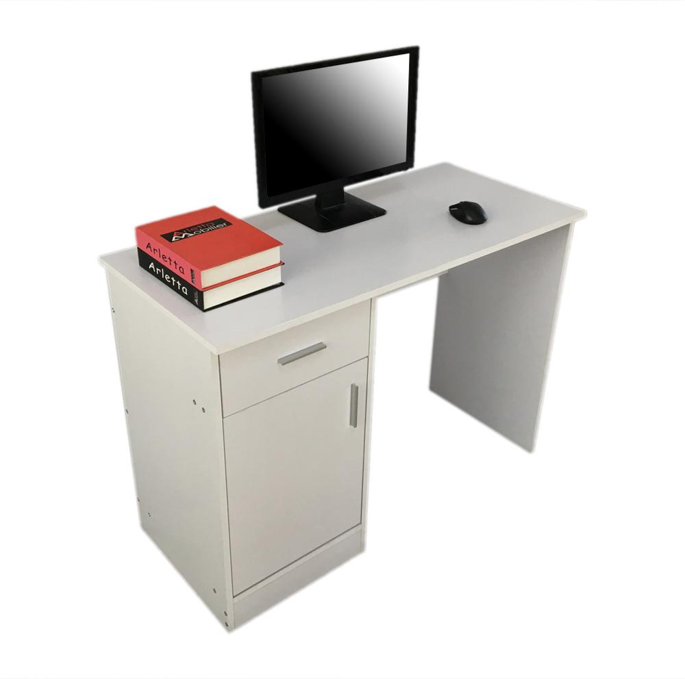 [UK Warehouse] Classics Practical Portable Office Computer Desk White Free Shipping UK Drop Shipping