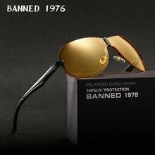 2018 New Night Vision Sunglasses Men Brand Designer Fashion