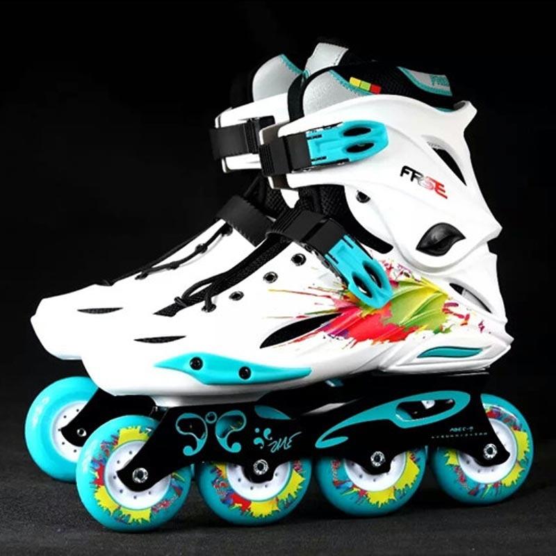 Original Freestyle M1 Professional Slalom Inline Skates Adult Roller Skating Shoe Sliding Free Skating Patines Adulto