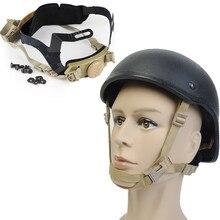 Военный Тактический шлем предохранительный Элемент страйкбол Пейнтбольный шлем циферблат блокировки ременное крепление быстрые аксессуары для шлема