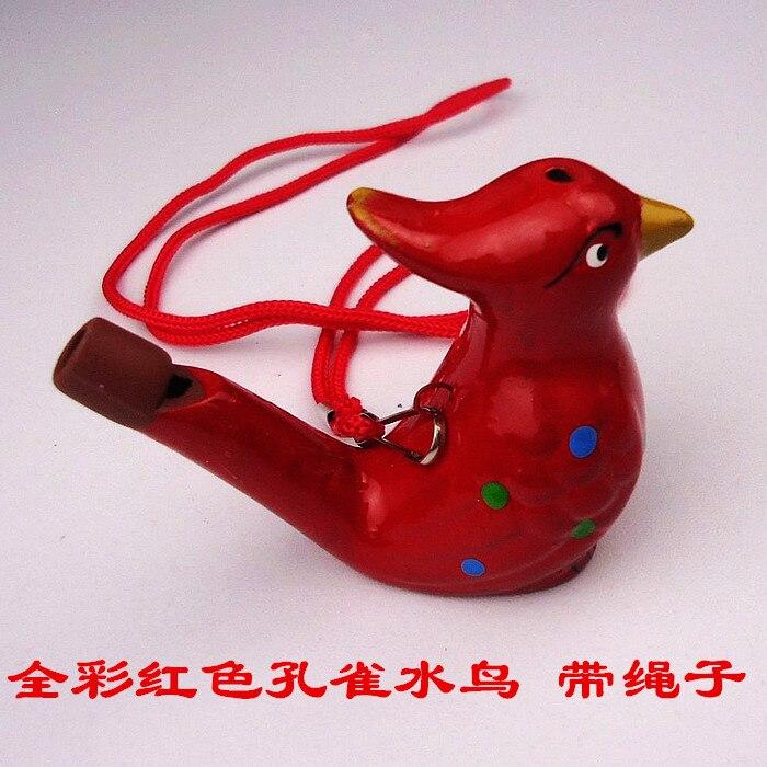 Clay Waterfowl Ceramic Music Whistle Ceramic Toy Children Fun Decoration Whistle
