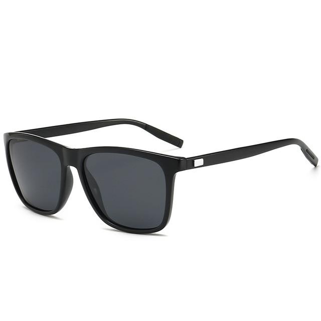 Unisex Retro Aluminum+TR90 Polarized Lens Sunglasses 2