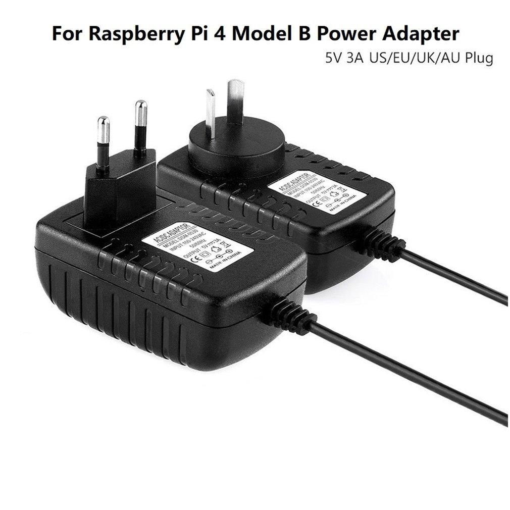 5V 3A type-C USB AC/DC адаптер настенного зарядного устройства Шнур питания для Raspberry Pi 4 Модель B Соединительный кабель питания