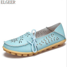 NEW Women's Casual Genuine Leather Shoes Mother Footwear Woman Loafers Slip-On Female Flats Moccasins Ladies Driving Shoe tastabo casual genuine leather flat shoe for women flower slip on driving shoe female moccasins flats lady pregnant women shoes