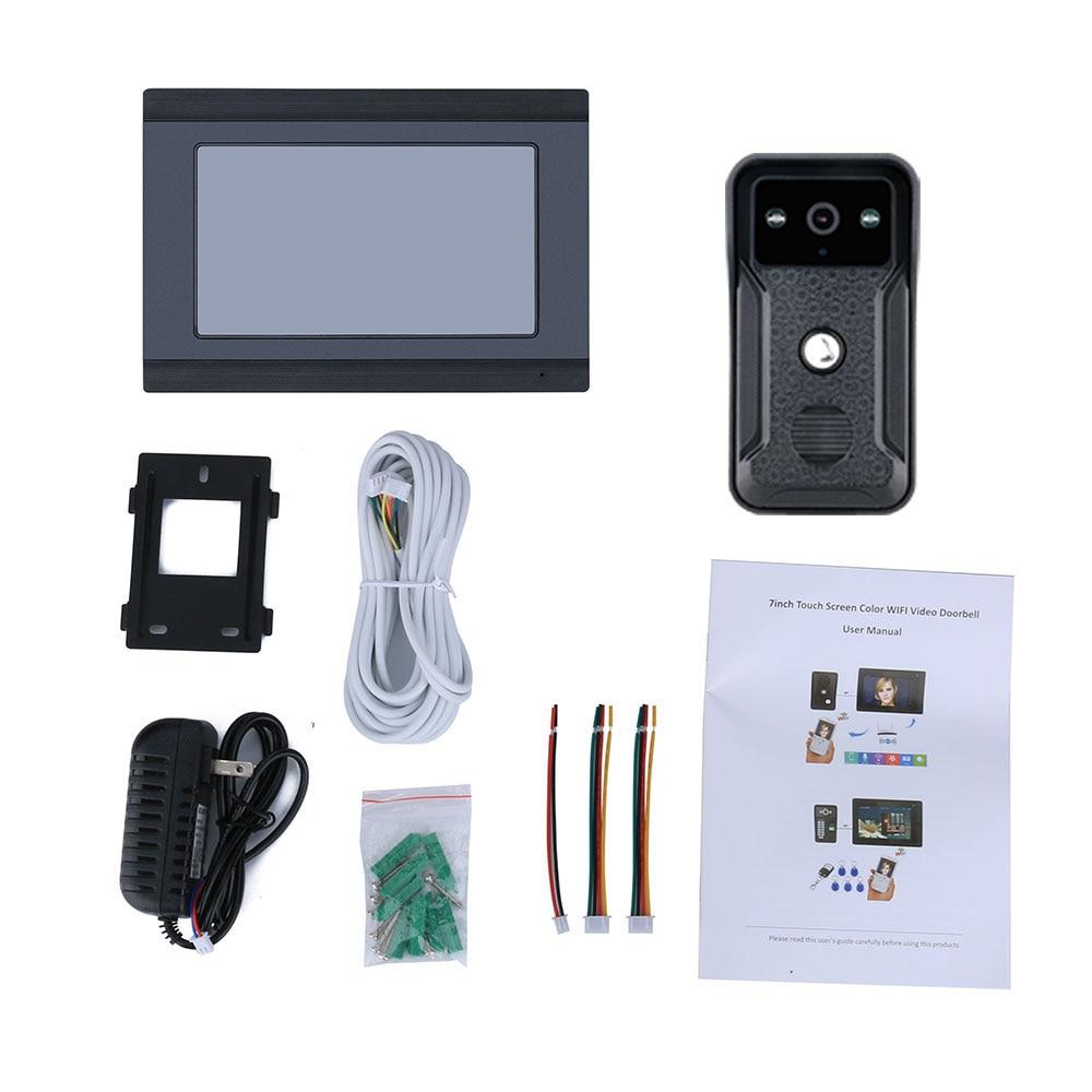 p wired ir camera apoio remoto app interfone desbloqueio 05