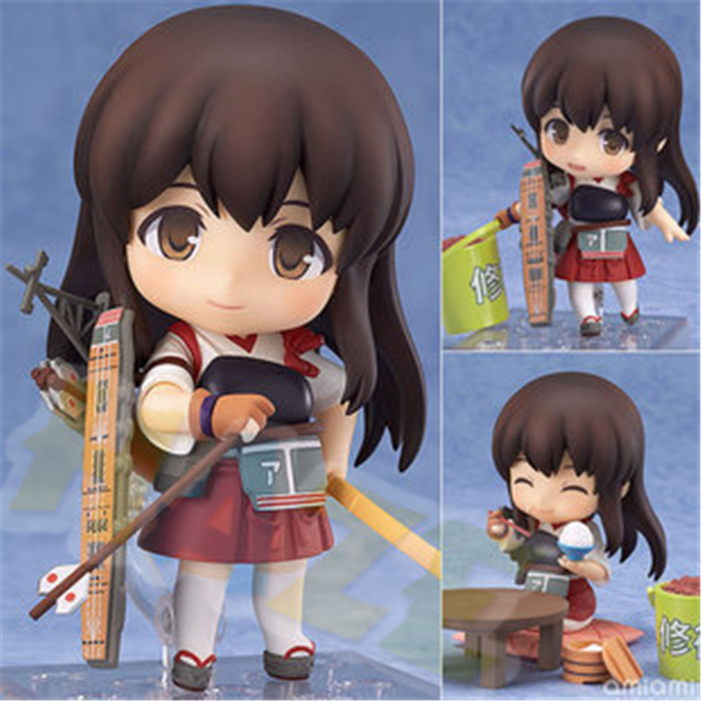 Spiel Azur Lane Lafie Akashi PVC Action Figur Figur Spielzeug Sammeln 10cm