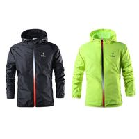 Outdoor Sports Jacket Teenager Boys Hooded Zipper Windproof Water Resistant Outwear Sporting Coat For Running Training cycling