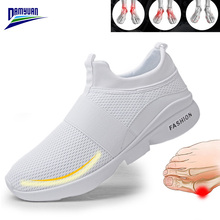 Damyuan Flat Shoes Women 2020 New Soft Breathable Sneakers Tenis Feminino Mesh Casual Zapatos De Mujer platform Loafers Ladies