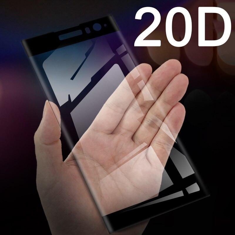 20D Protective Glass For Sony Xperia XA XA2 Ultra XA1 Plus XA3 Screen Protector On The Xperia Xa1plus Xaultra Xa 3 Tempered Glas
