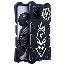 Luxury Armor Metal Aluminum CNC technology manufacturing Cover For Samsung Galaxy Note 20 ulrta  case Bullet Bracket Phone shell