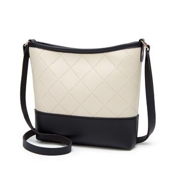 Crossbody Bags For Women  Fashion Women s Rhombic One shoulder Bucket Bag Mobile Phone Bag