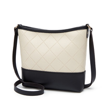 Crossbody Bags For Women 2020 Fashion Women's Rhombic One-shoulder Bucket
