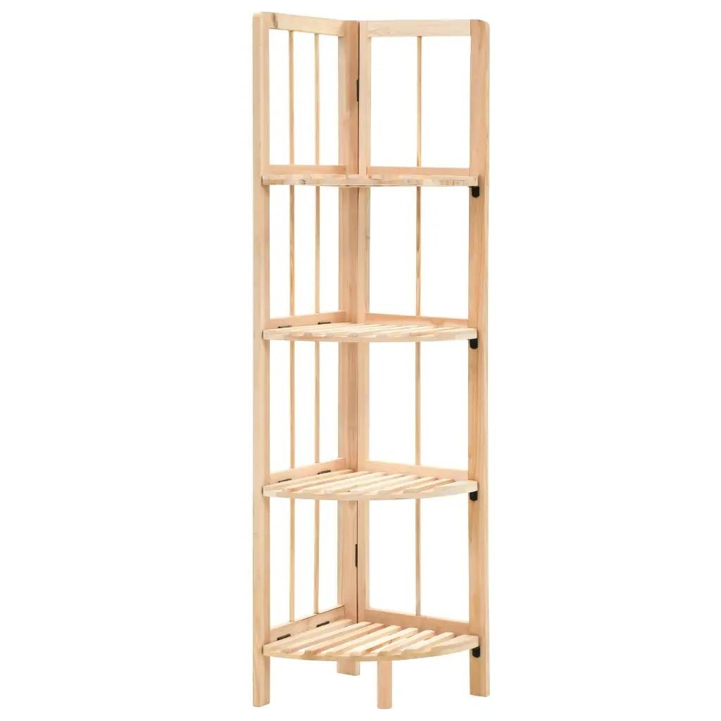 VidaXL Corner Shelf Wood 27 X 27 X 110cm 246435