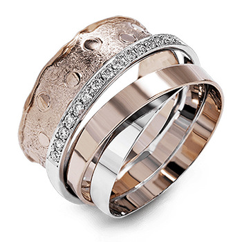 Women Fashion Jewelry Multilayer Surrounding Rose Gold Rings for Female CZ Inlay Unique Design Wedding Finger Ring Jewelry elegant purple black gold filled cz ring gold colors flowers rings unique vintage party wedding for women christmas jewelry