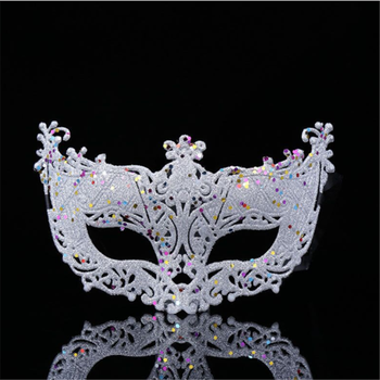 New Fashion Luxury Venetian Masquerade Mask Women Girls Sexy Fox Eye Mask For Fancy Dress Christmas Halloween Party 7