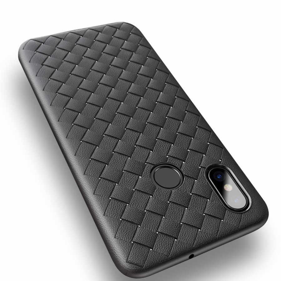 Luxe Weave Case Voor Xiaomi Redmi Note 8 7 6 5 Pro Case Redmi 7 7A 6 6A 5 Plus 5A 4A 4X3 S S2 K20 Pro Cover Zachte Siliconen Gevallen