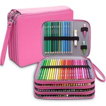 Kawaii School Pencil Sase 168 Slots Large pencil case Three Zippers Back to School for Gel Pen Perfect Gift for Students