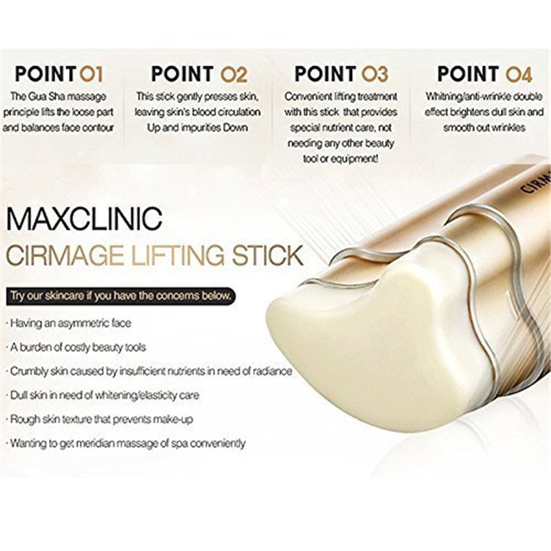 Image 4 - MAXCLINIC CIRMAGE Lifting Stick 23g Anti wrinkle Facial Massage Balm for Skin Lift and Firm Corea Hottest Cosmetics-in Face Skin Care Tools from Beauty & Health