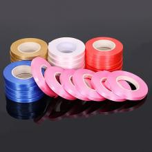 1roll 5mm Ribbons Multicolor Solid Color Satin Ribbons Wedding Decorative Gift Box Wrapping Belt DIY Crafts 10Meters