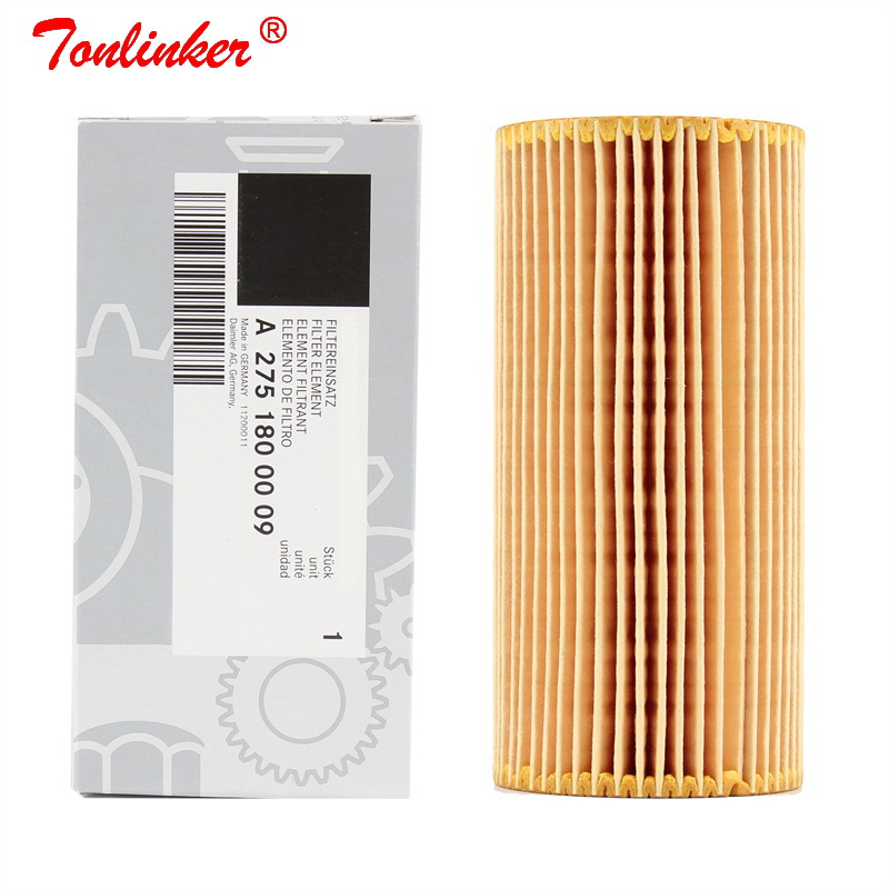 Oil Filter A2751800009 1 Pcs For Mercedes S CLASS W220 W221 W222 V222 X222 A217 C215 C216 C217 S600 CL600 S65AMG CL65AMG Model-in Oil Filters from Automobiles & Motorcycles