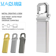Flash-Drive Usb-Stick U-Disk Cel Memoria 128GB Metal NEW 16GB Gift 4GB 32GB 64GB