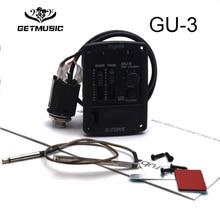 Cherub GU-3 Acoustic Ukulele Preamp System 2Band EQ for Ukulele with Chromatic Tuner Ukulele Pickup Free Shipping free shipping 5pcs eq eb eq in stock
