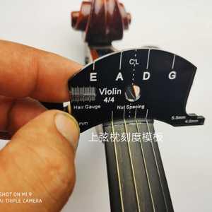 Image 3 - Violin bridge template, violin viola cello bridges multifunctional mold, bridges repair reference tool, violin parts
