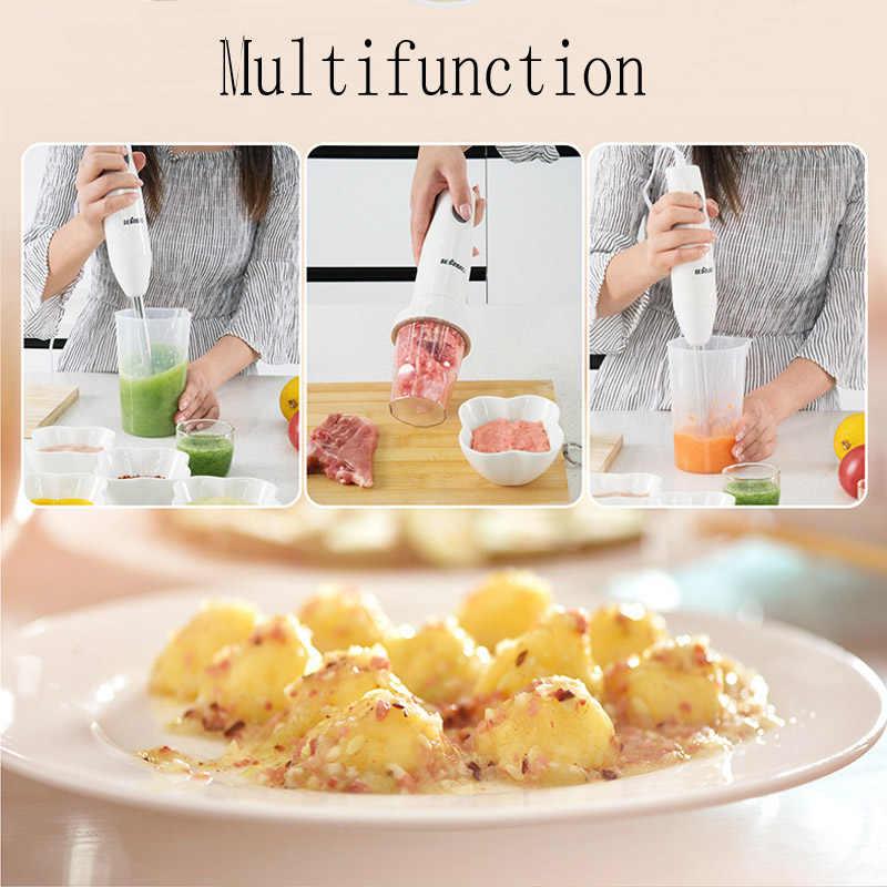Blender Makanan Bayi Pembuat Portable Blender Cup 4 Dalam 1 Set untuk Peralatan Dapur Mixer Listrik Smoothie untuk Rumah